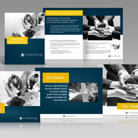 Solution: CapStar Bank Presentation and Printed Collateral
