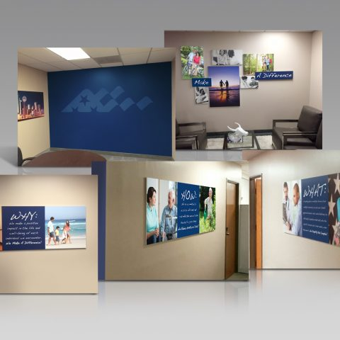 Solution: Office Branding Project for SSI Claimsnet