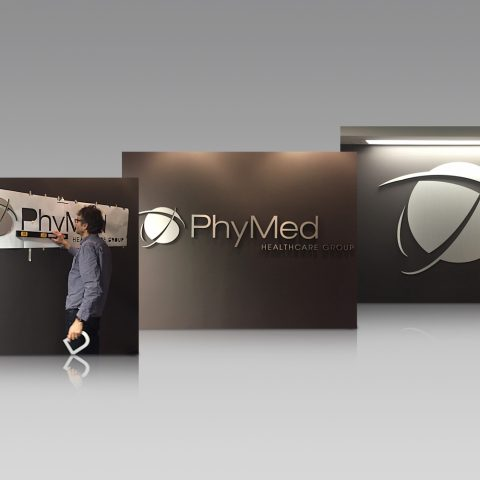 Solution: Office Branding - PhyMed Healthcare Group